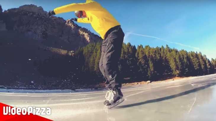 絶景をバックにスケートする人たちの映像をMVにしてみた【EDM】
