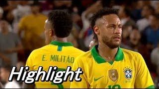 ブラジル不覚、ネイマール投入もペルーにリベンジ許す! Brazil Peru Highlight 11/09/2019